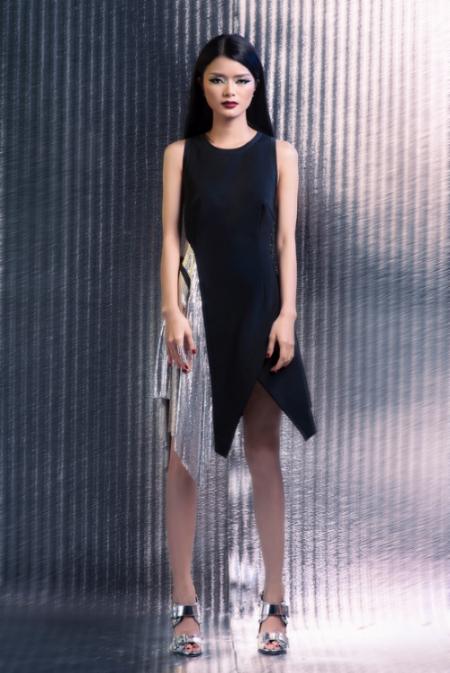 nhung kiko mix đồ cá tính với trang phục ánh kim - 8