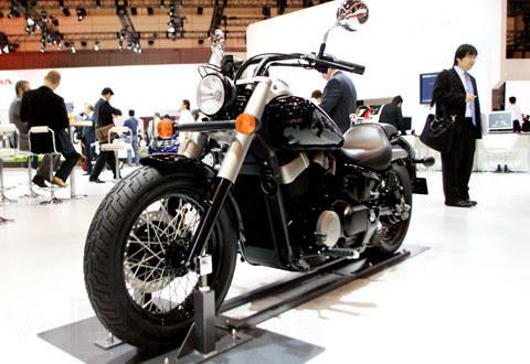 bộ sưu tập xe máy honda tại tokyo motor show 2009 - 2