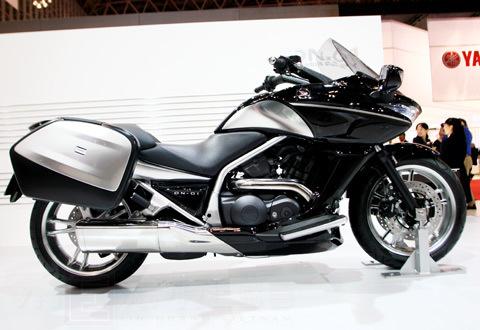 bộ sưu tập xe máy honda tại tokyo motor show 2009 - 3