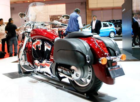 bộ sưu tập xe máy honda tại tokyo motor show 2009 - 1