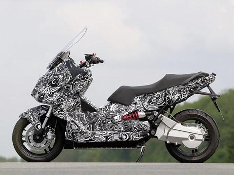scooter mới của bmw trên đường thử - 1
