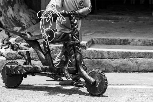 cuộc đua scooter gỗ - 6