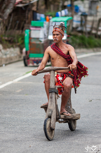 đua scooter gỗ ở philippines - 4
