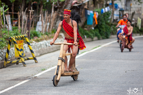 đua scooter gỗ ở philippines - 5