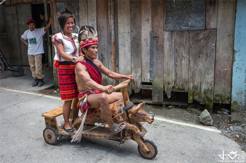 đua scooter gỗ ở philippines - 7