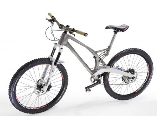 khung xe đạp bằng titan đúc 3d - 1