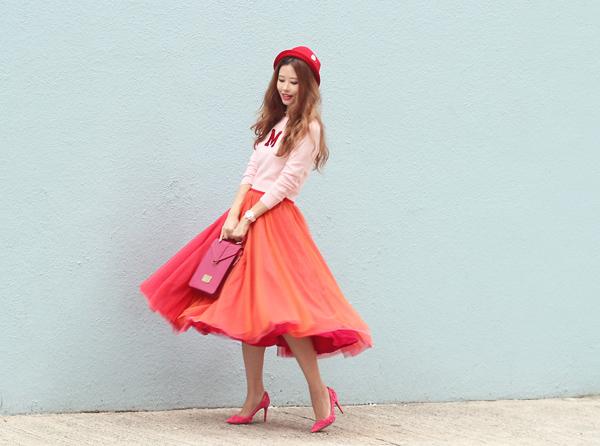 Những pha tung váy maxi đẹp xuất sắc của tăng thanh hà angela phương trinh - 14