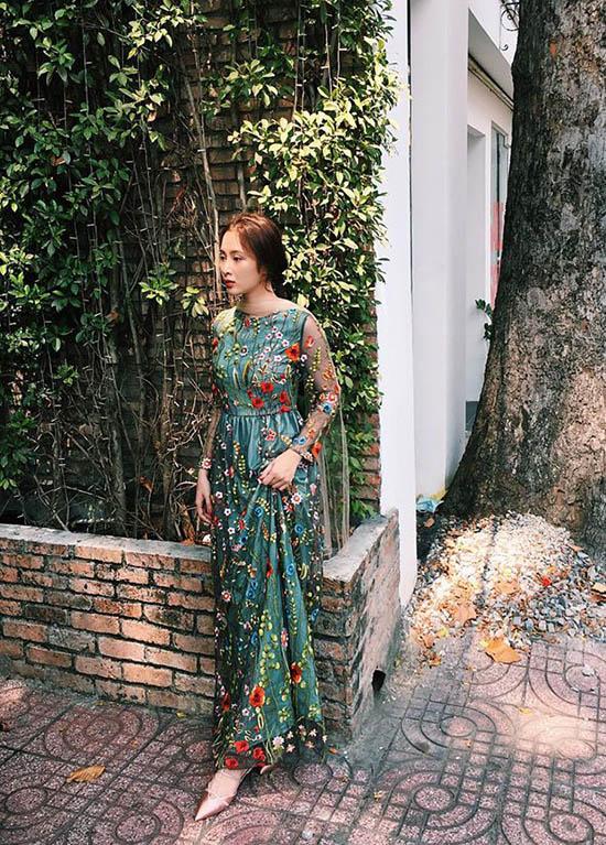 Thu thảo angela phương trinh cùng loạt sao việt đã bắt kịp kiểu váy hot nhất hè này - 6