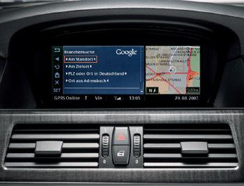 tìm kiếm bằng google trên xe bmw - 1
