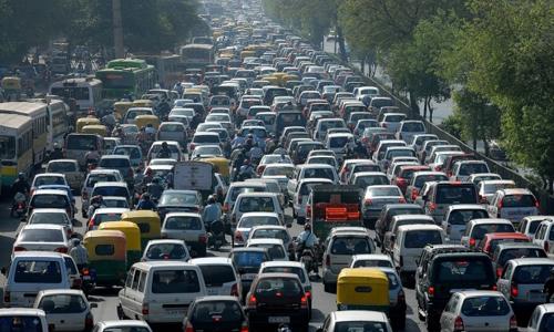 trung quốc mất không 9 ngày mỗi năm vì tắc đường - 1