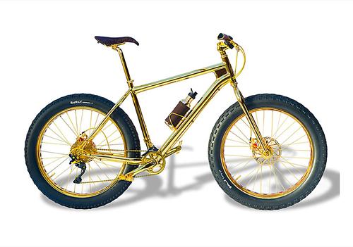 xe đạp bằng vàng giá 1 triệu usd - 1