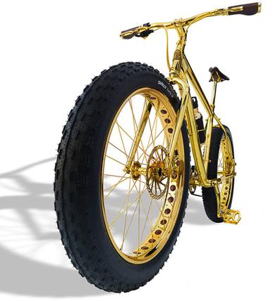 xe đạp bằng vàng giá 1 triệu usd - 2