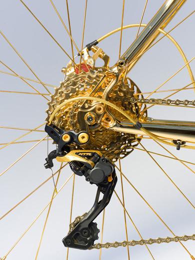 xe đạp bằng vàng giá 1 triệu usd - 4
