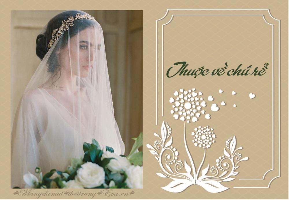 4 ý nghĩa bất ngờ thú vị của mạng che mặt cô dâu trong ngày cưới - 2