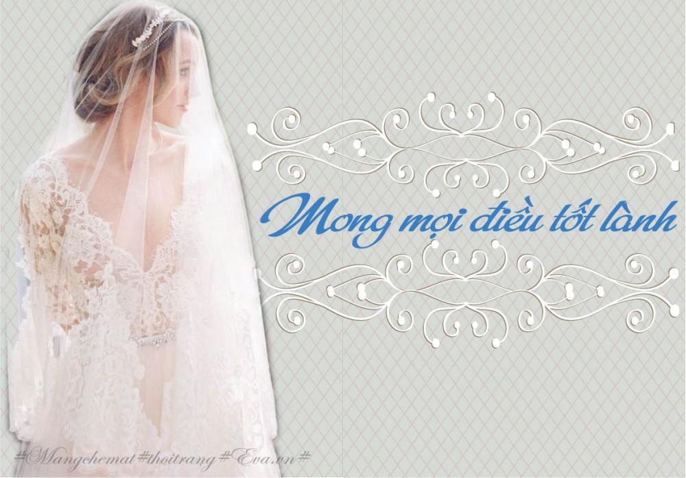 4 ý nghĩa bất ngờ thú vị của mạng che mặt cô dâu trong ngày cưới - 3