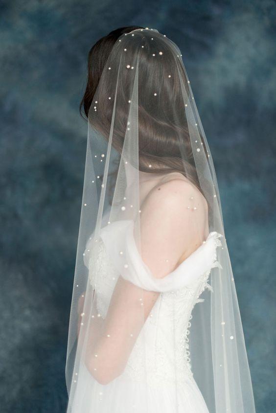 4 ý nghĩa bất ngờ thú vị của mạng che mặt cô dâu trong ngày cưới - 8