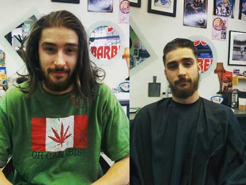 Ai bảo chỉ phái đẹp cánh mày râu cũng lên đời nhan sắc nhờ thay đổi kiểu tóc - 1