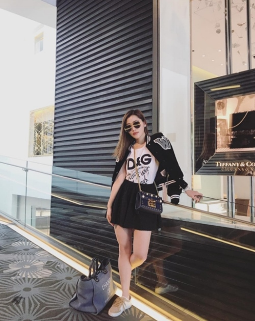 Ái nữ tỷ phú malaysia đã đẹp còn giàu lại sang chảnh ngút trời - 7