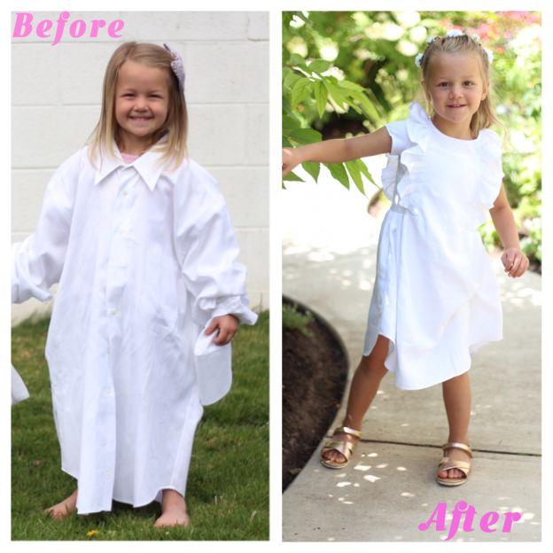 Bà mẹ vượt qua trầm cảm sau sinh nhờ tài may váy cho con gái từ áo sơ mi của chồng - 2