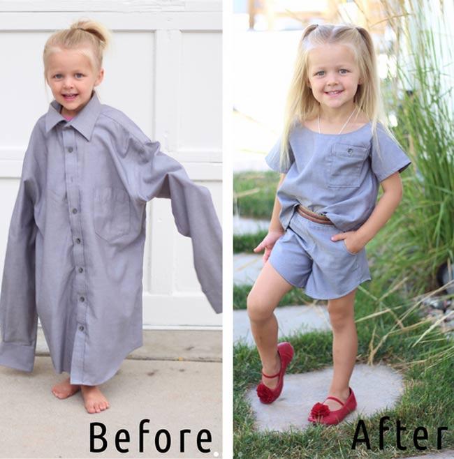Bà mẹ vượt qua trầm cảm sau sinh nhờ tài may váy cho con gái từ áo sơ mi của chồng - 6