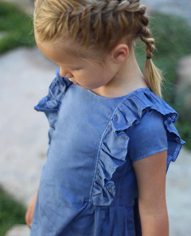 Bà mẹ vượt qua trầm cảm sau sinh nhờ tài may váy cho con gái từ áo sơ mi của chồng - 11