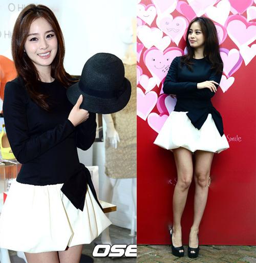 Bí quyết thời trang để kim tae hee trẻ như 18 khi đã gần 40 - 1