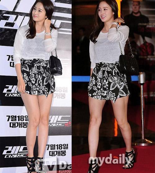 Bí quyết thời trang để kim tae hee trẻ như 18 khi đã gần 40 - 2