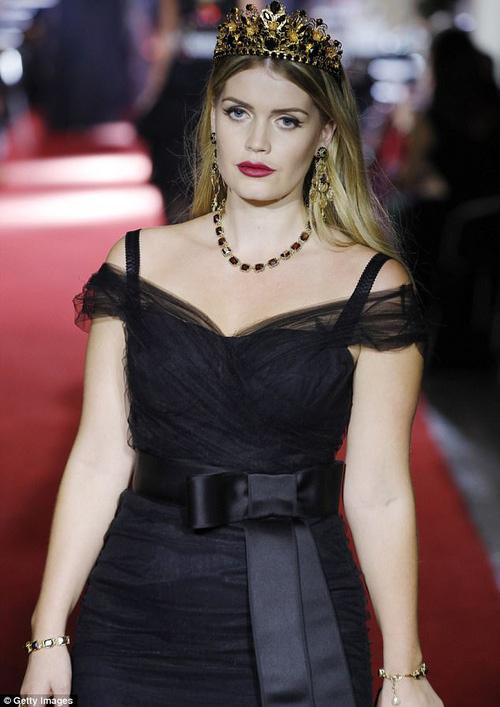 Cả công chúa cũng lên sàn vì ông lớn thời trang dolce - 5