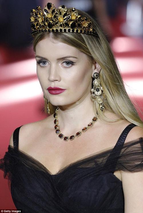 Cả công chúa cũng lên sàn vì ông lớn thời trang dolce - 6