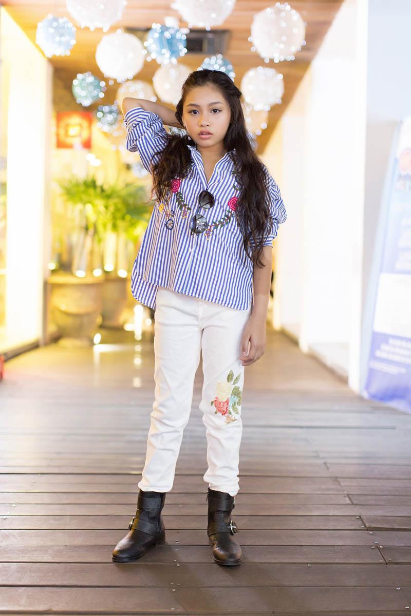 Cô bé 9 tuổi 5 giải vàng 3 giải bạc bất ngờ lột xác với đồ hiệu sành điệu - 8