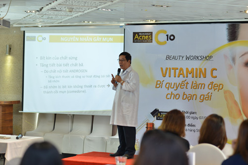 Công dụng của vitamin c trong điều trị sẹo vết thâm sau mụn - 2