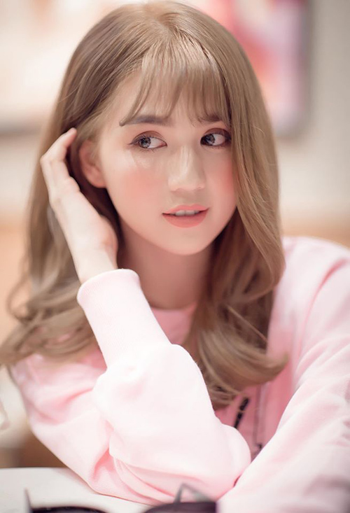 Đổi tóc mới siêu đẹp ngọc trinh khiến người hâm mộ khen nức nở - 2