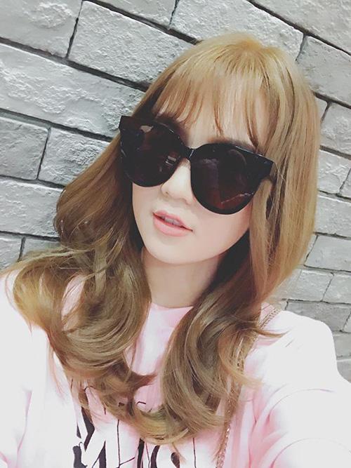 Đổi tóc mới siêu đẹp ngọc trinh khiến người hâm mộ khen nức nở - 3