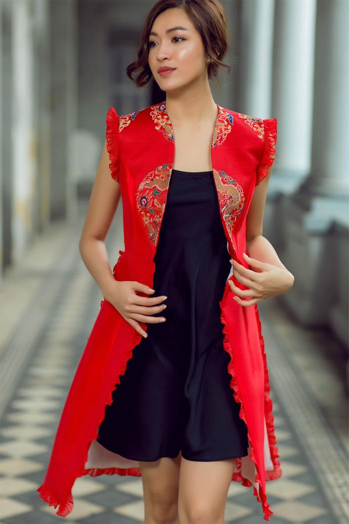 Đón thu rực rỡ với loạt váy đẹp miễn chê của á hậu lệ hằng - 4