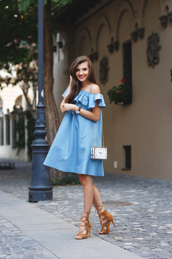 Dù cá tính hay điệu đà bạn cũng không thể thiếu kiểu váy này - 1