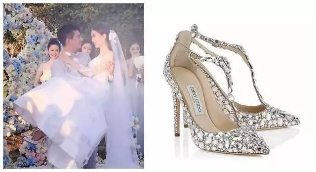 Đừng ghen khi biết giày cưới của lâm tâm như lưu thi thi đẹp đến mức này - 2