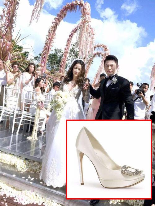 Đừng ghen khi biết giày cưới của lâm tâm như lưu thi thi đẹp đến mức này - 4
