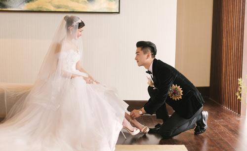 Đừng ghen khi biết giày cưới của lâm tâm như lưu thi thi đẹp đến mức này - 6
