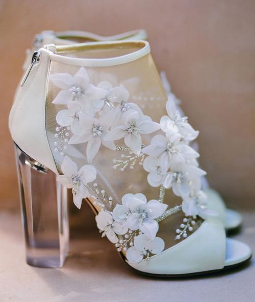 Đừng ghen khi biết giày cưới của lâm tâm như lưu thi thi đẹp đến mức này - 14