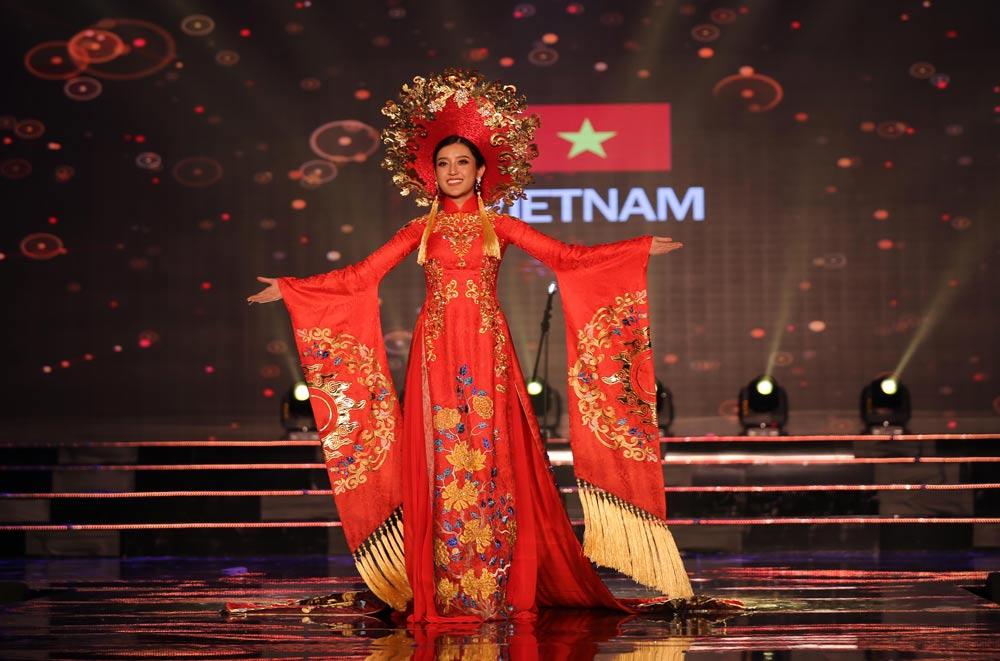 Huyền my khiến quốc phục việt nam nổi bật giữa dàn trang phục dân tộc thế giới - 2