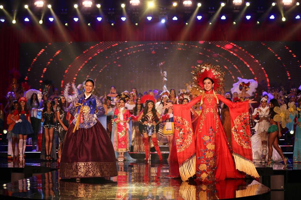 Huyền my khiến quốc phục việt nam nổi bật giữa dàn trang phục dân tộc thế giới - 4