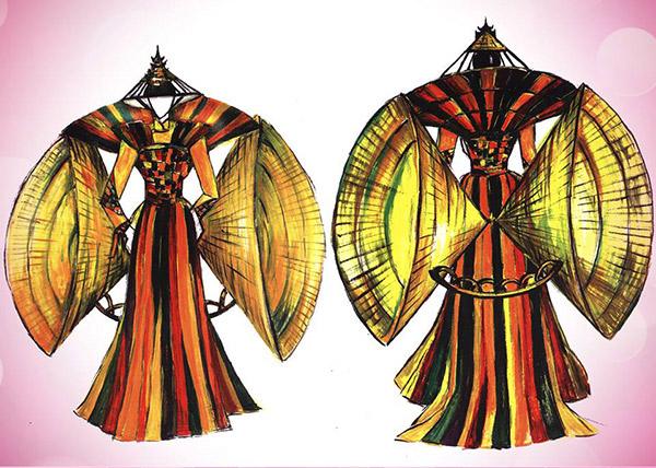 Lần đầu tiên trong lịch sử trang phục dân tộc của việt nam mới lạ và độc đáo đến thế - 11