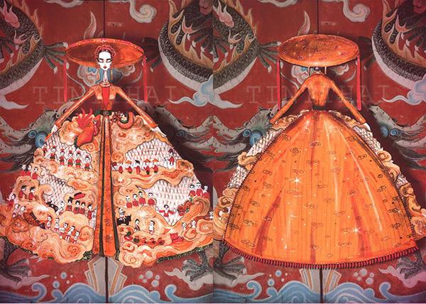 Lần đầu tiên trong lịch sử trang phục dân tộc của việt nam mới lạ và độc đáo đến thế - 14