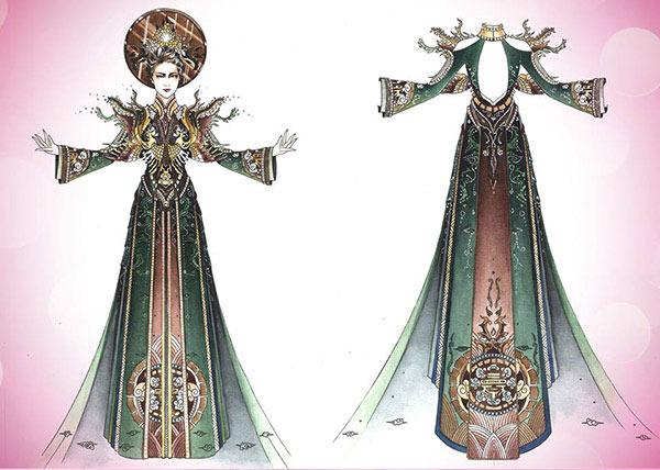 Lần đầu tiên trong lịch sử trang phục dân tộc của việt nam mới lạ và độc đáo đến thế - 17