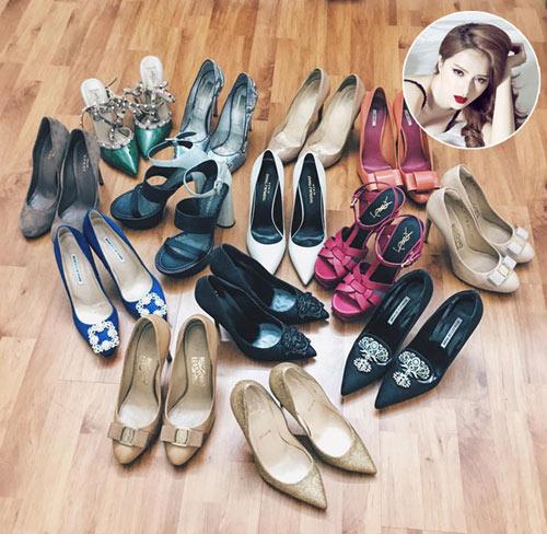 Loạt sao việt hạng a đang mê mệt đôi giày sa tanh sang chảnh này - 5