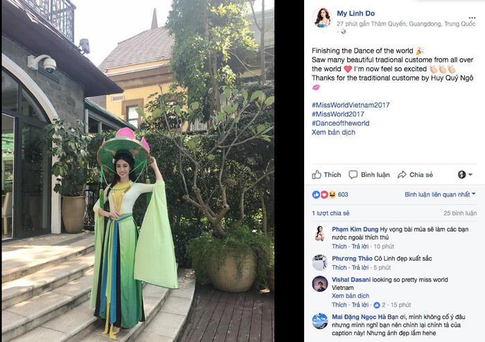 Miss world 2017 đỗ mỹ linh đã chính thức bước vào trận đấu giành vương miện hoa hậu - 1