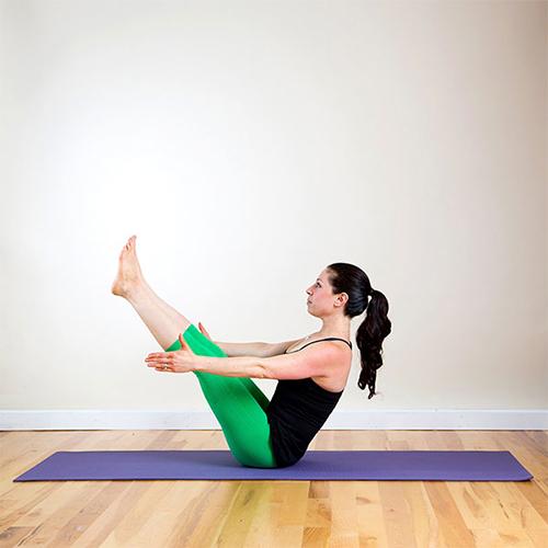 Mỡ bụng lâu năm sẽ bị triệt tận gốc với 3 động tác yoga cơ bản - 4