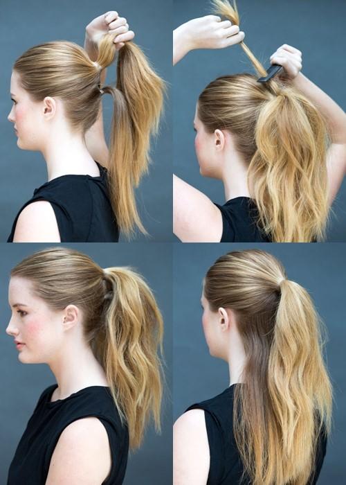Nâng tầm nhan sắc ngoạn mục bằng hàng loạt biến thể của tóc đuôi ngựa - 2