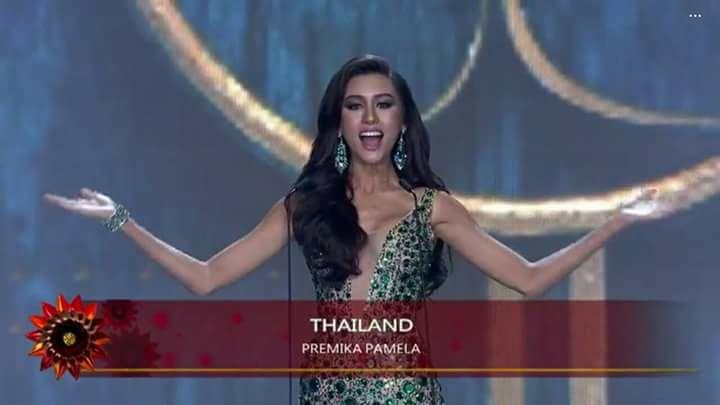 Người đẹp thái lan vấp té ngay trên sân khấu miss grand international 2017 - 1