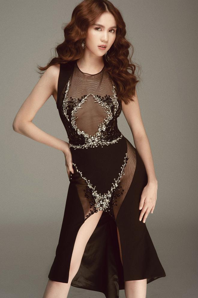 Những lần mặc váy hở táo bạo nhưng bị chê kém duyên của ngọc trinh - 5
